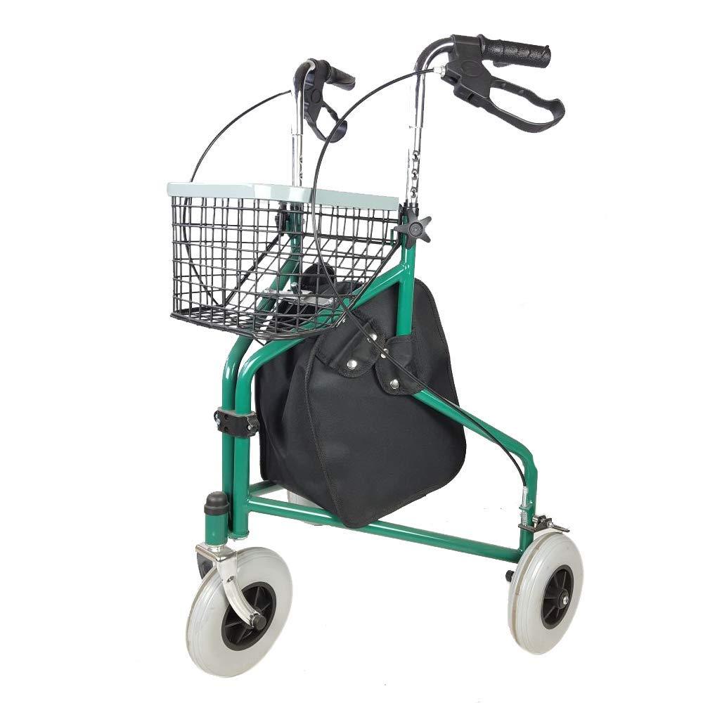 andador tres ruedas plegable