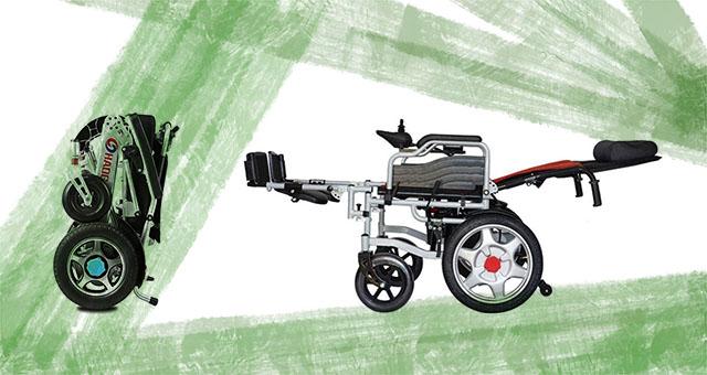 comprar silla de ruedas eléctrica plegable