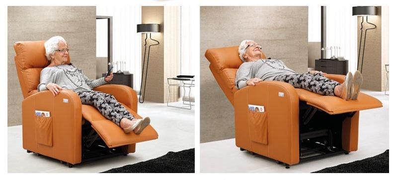 posiciones sillón relax