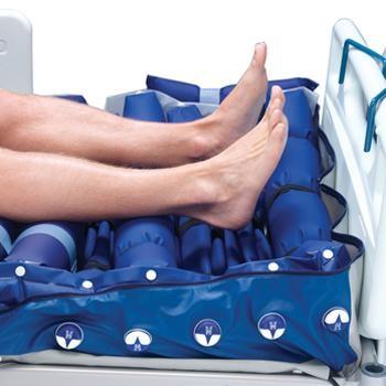 colchón antiescaras detalle pies