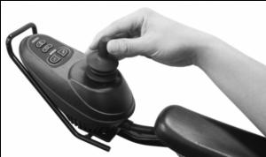 panel de control silla de ruedas