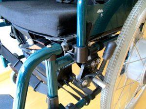 freno en rueda silla de ruedas